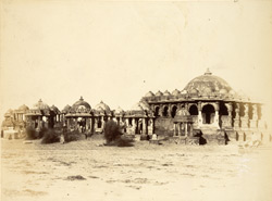 The Mahasati or Royal Tombs, Bhuj